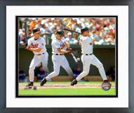 Baltimore Orioles Cal Ripken Jr Multiple Exposure 1 Framed Photo