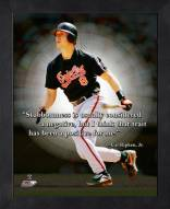 Baltimore Orioles Cal Ripken Jr. Framed Pro Quote