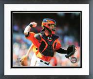 Baltimore Orioles Caleb Joseph Action Framed Photo