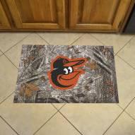 Baltimore Orioles Camo Scraper Door Mat