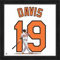 Baltimore Orioles Chris Davis Uniframe Framed Jersey Photo