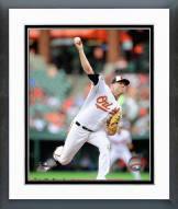 Baltimore Orioles Chris Tillman Action Framed Photo