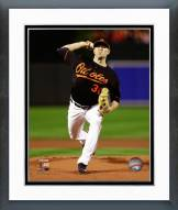Baltimore Orioles Chris Tillman AL Championship Framed Photo