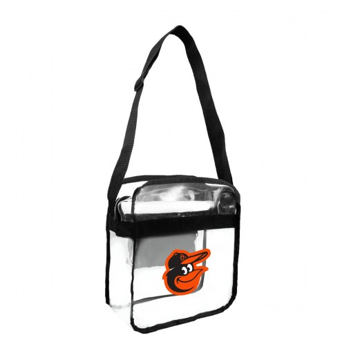 Baltimore Orioles Clear Crossbody Carry-All Bag