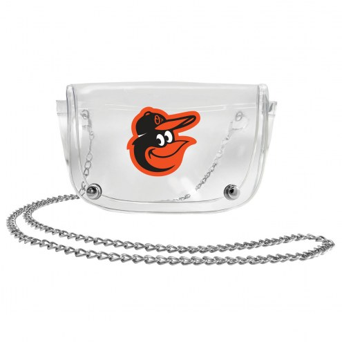 Baltimore Orioles Clear Waistpack