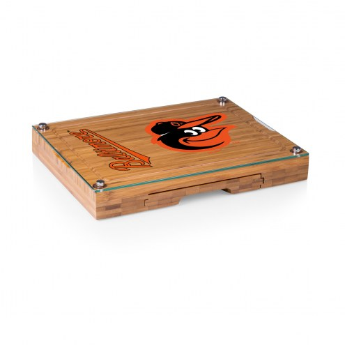 Baltimore Orioles Concerto Bamboo Cutting Board