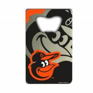 Baltimore Orioles Credit Card Style Bottle Opener