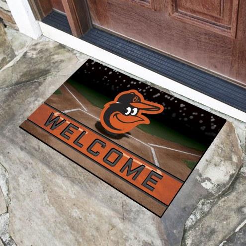 Baltimore Orioles Crumb Rubber Door Mat