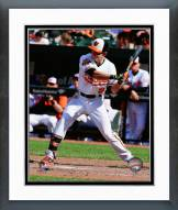 Baltimore Orioles David Lough Action Framed Photo
