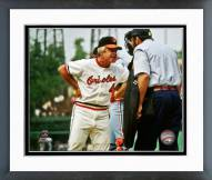 Baltimore Orioles Earl Weaver Action Framed Photo