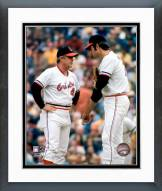 Baltimore Orioles Earl Weaver & Jim Palmer 1971 World Series Framed Photo