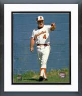 Baltimore Orioles Earl Weaver standing by wall Framed Photo