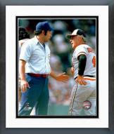 Baltimore Orioles Earl Weaver with ump Framed Photo