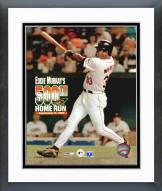 Baltimore Orioles Eddie Murray 500th Home Run with Overlay Framed Photo