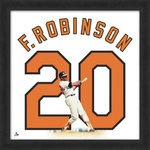Baltimore Orioles Frank Robinson Uniframe Framed Jersey Photo
