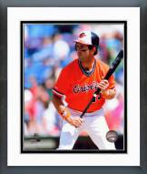 Baltimore Orioles Fred Lynn Action Framed Photo