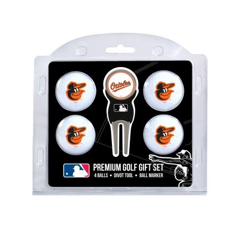 Baltimore Orioles Golf Ball Gift Set