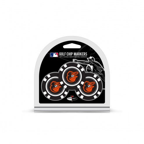 Baltimore Orioles Golf Chip Ball Markers
