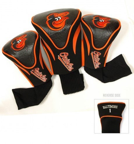 Baltimore Orioles Golf Headcovers - 3 Pack
