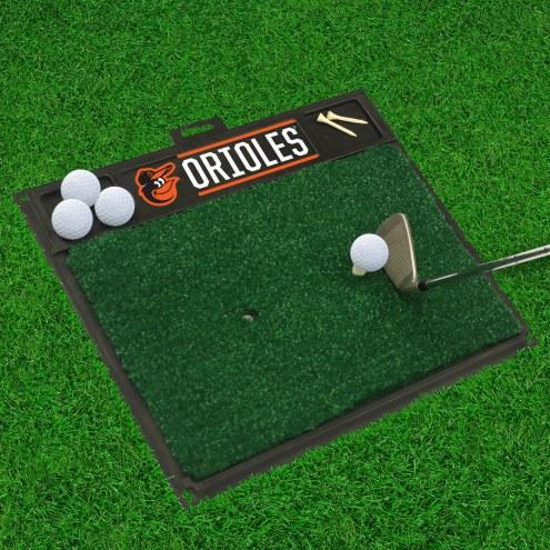 Baltimore Orioles Golf Hitting Mat