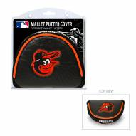 Baltimore Orioles Golf Mallet Putter Cover