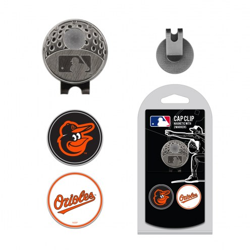 Baltimore Orioles Hat Clip & Marker Set