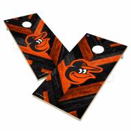 Baltimore Orioles Herringbone Cornhole Game Set
