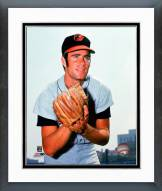 Baltimore Orioles Jim Palmer 1971 Posed Framed Photo