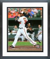 Baltimore Orioles Jimmy Paredes Action Framed Photo