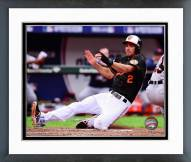 Baltimore Orioles J.J. Hardy AL Division Series Action Framed Photo