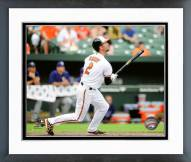 Baltimore Orioles J.J. Hardy Action Framed Photo