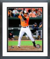 Baltimore Orioles Jonathan Schoop Action Framed Photo