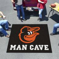 Baltimore Orioles Man Cave Tailgate Mat