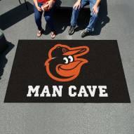 Baltimore Orioles Man Cave Ulti-Mat Rug