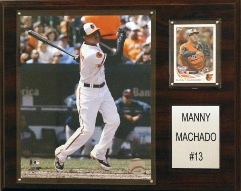 "Baltimore Orioles Manny Machado 12"" x 15"" Player Plaque"