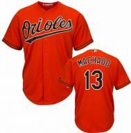 Baltimore Orioles Manny Machado Replica Orange Alternate Baseball Jersey