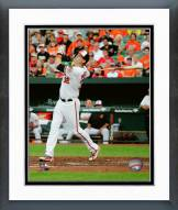 Baltimore Orioles Matt Wieters Action Framed Photo