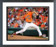 Baltimore Orioles Miguel Gonzalez Action Framed Photo