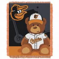 Baltimore Orioles MLB Baby Blanket