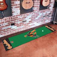 Baltimore Orioles Golf Putting Green Mat