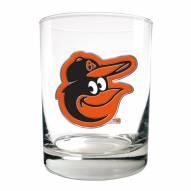 Baltimore Orioles MLB 2-Piece 14 Oz. Rocks Glass Set