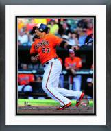 Baltimore Orioles Nelson Cruz Action Framed Photo