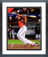 Baltimore Orioles Nelson Cruz AL Championship Series Action Framed Photo