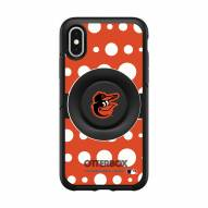 Baltimore Orioles OtterBox Symmetry Polka Dot PopSocket iPhone Case