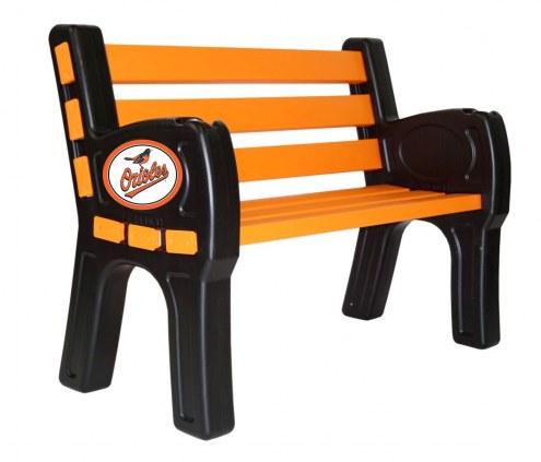Baltimore Orioles Park Bench
