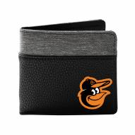 Baltimore Orioles Pebble Bi-Fold Wallet