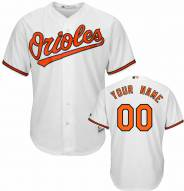 Baltimore Orioles Personalized Replica Home Baseball Jersey