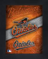 Baltimore Orioles Framed 3D Wall Art