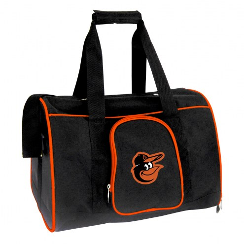 Baltimore Orioles Premium Pet Carrier Bag