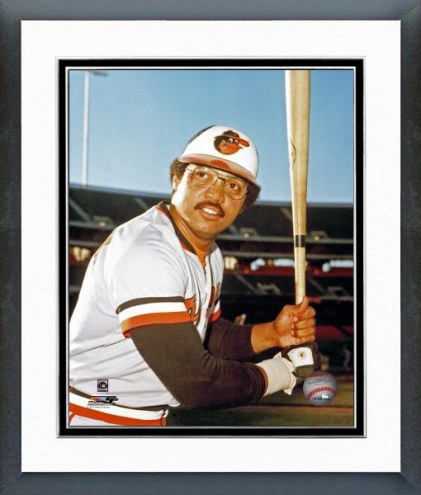 Baltimore Orioles Reggie Jackson Posed Framed Photo